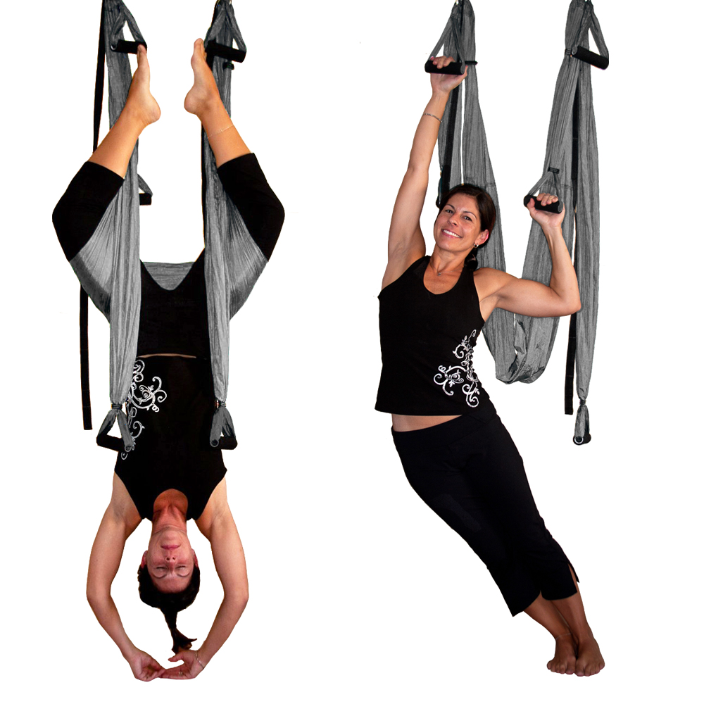silver gravotonics aerial yoga inversion swing – st. petersburg yoga