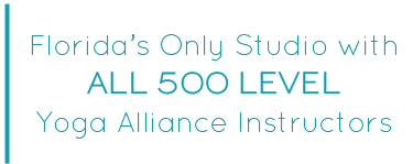 All 500 Level Yoga Alliance Instructors