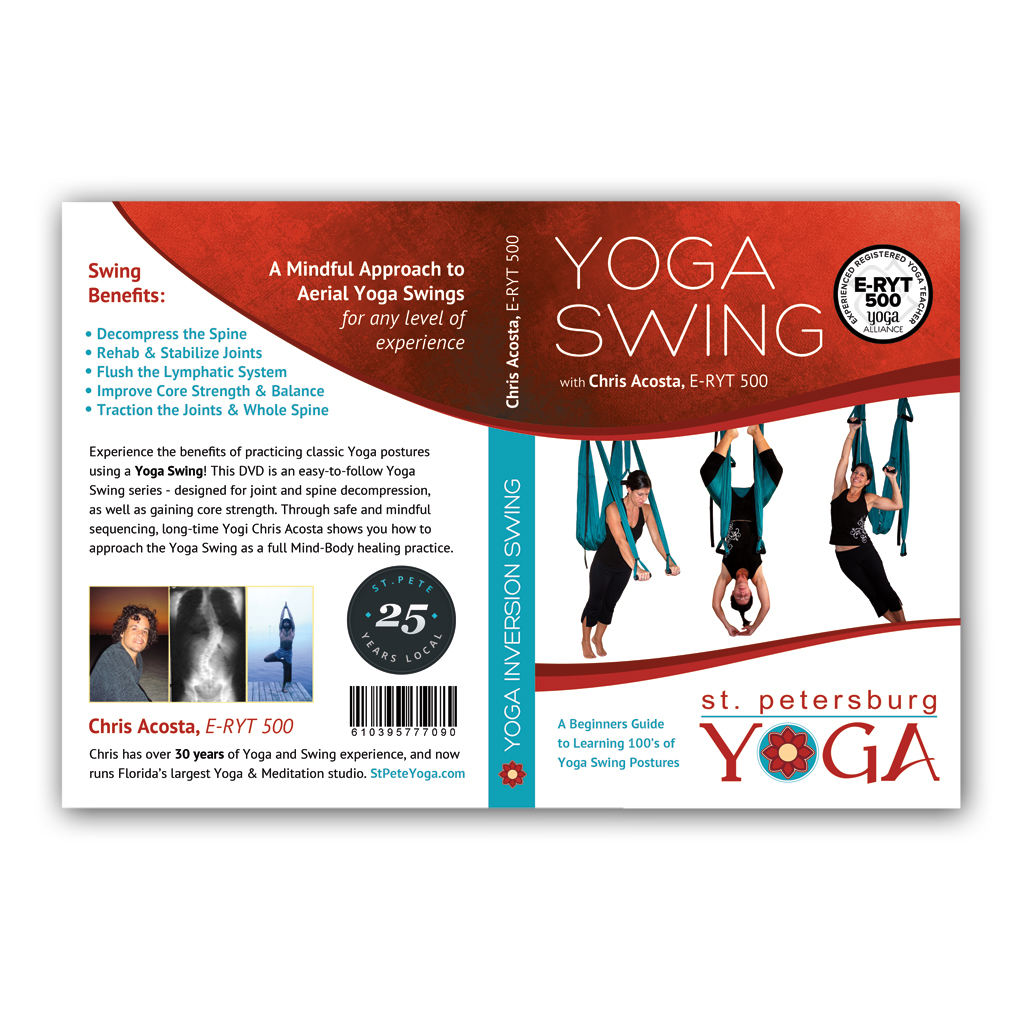yoga swing dvd – a beginners guide to learning 100's of yoga swing