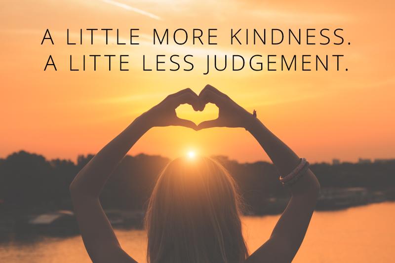 kindness-judgement